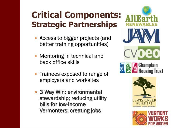 Critical Components: