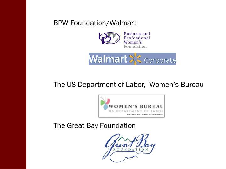 BPW Foundation/Walmart