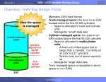 overview eav key design points