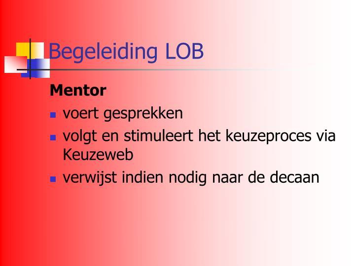 Begeleiding LOB
