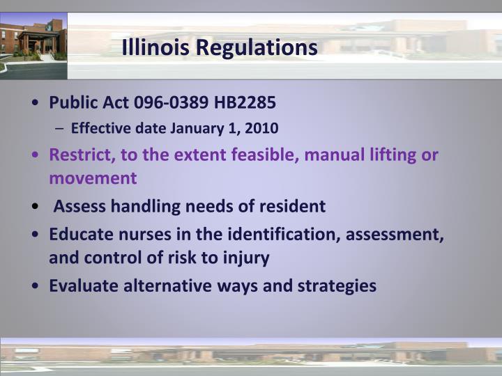 Illinois Regulations