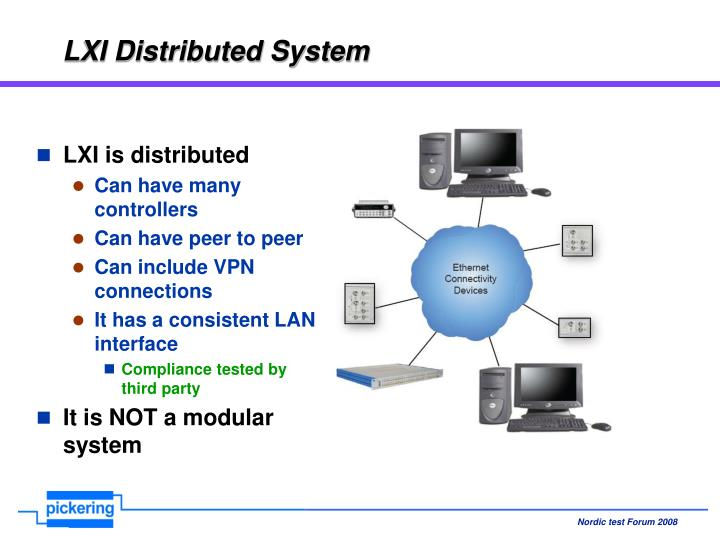 LXI Distributed System