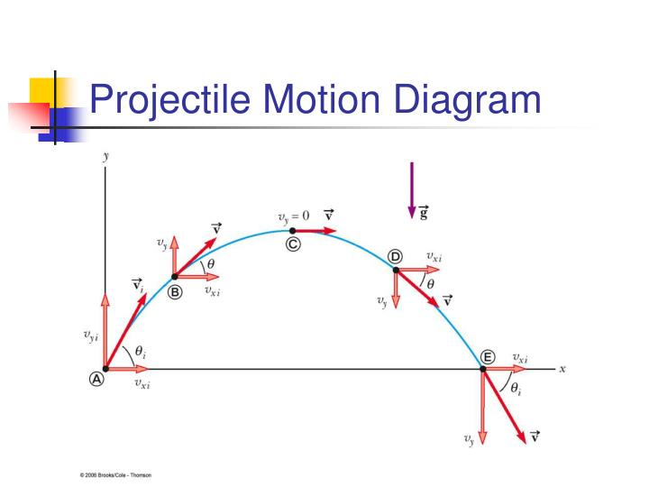 Projectile Motion Diagram