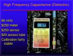high frequency capacitance dielectric