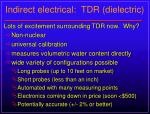 indirect electrical tdr dielectric1