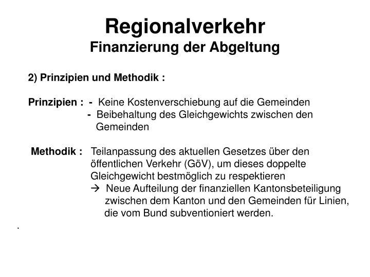 Regionalverkehr
