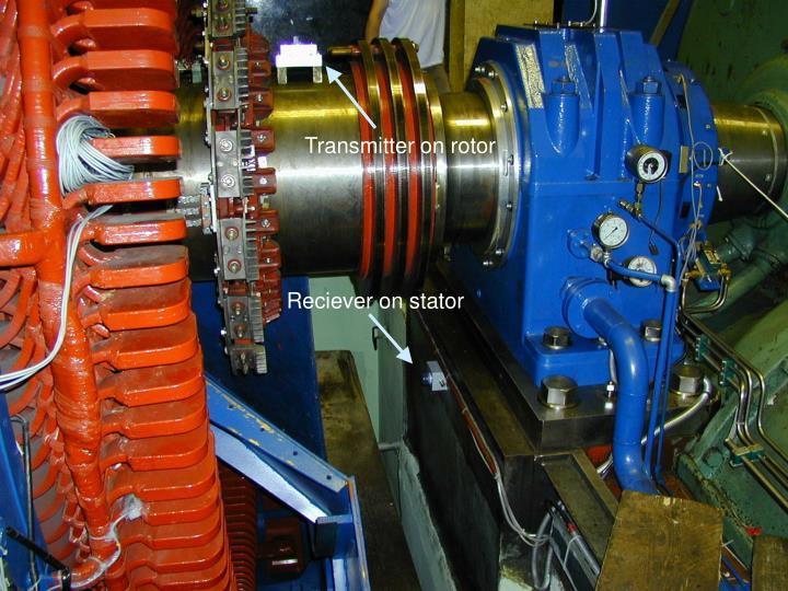 Transmitter on rotor