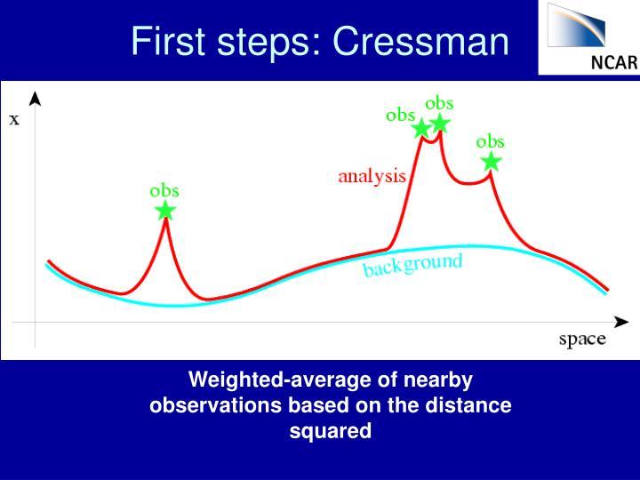 First steps: Cressman