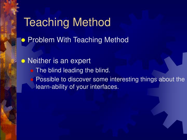 Teaching Method