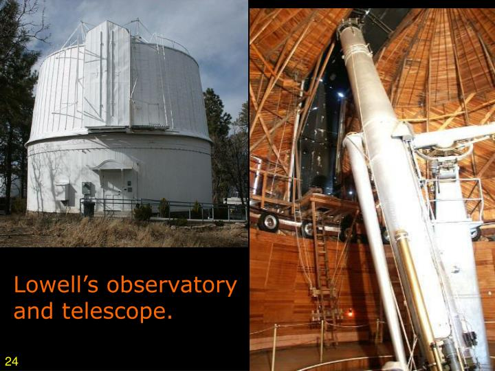 Lowell's observatory
