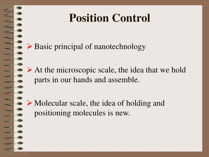 Position Control