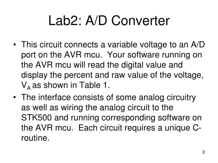 Lab2 a d converter1
