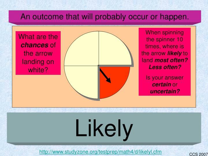 http://www.studyzone.org/testprep/math4/d/likelyl.cfm