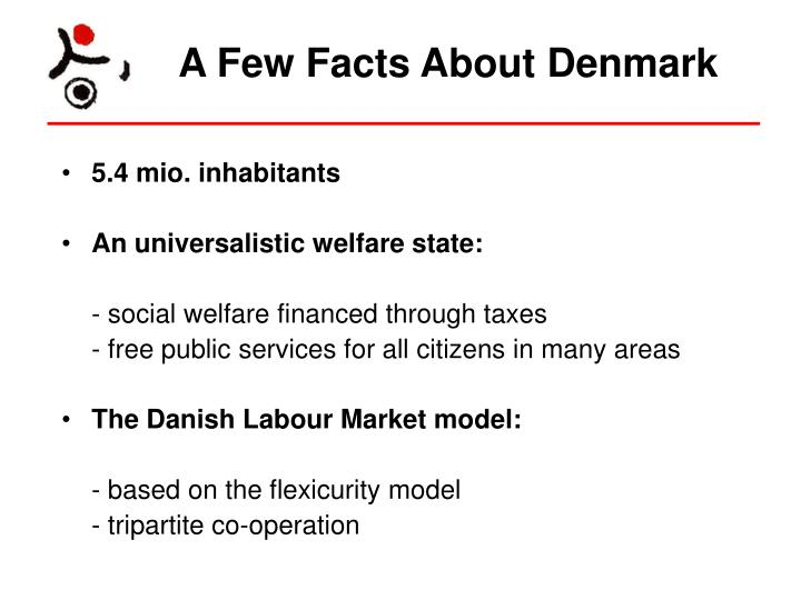 A few facts about denmark