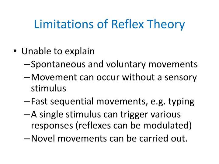 Limitations of Reflex Theory