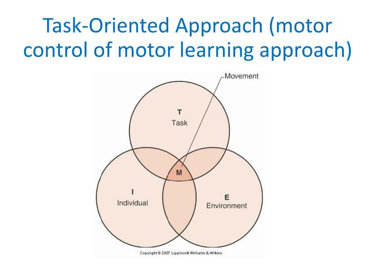 Task-Oriented Approach (motor control of motor learning approach)