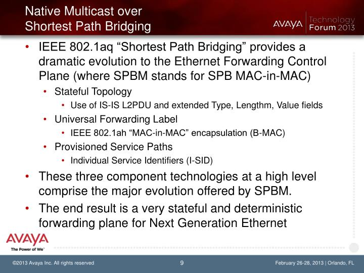 Native Multicast over