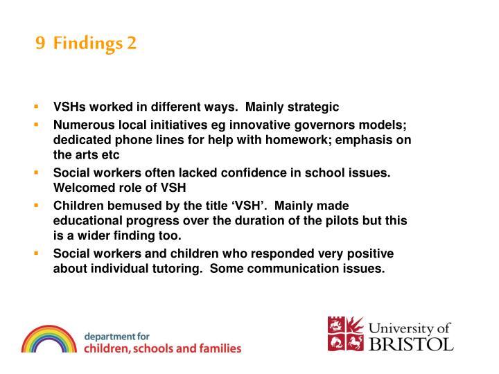 9  Findings 2