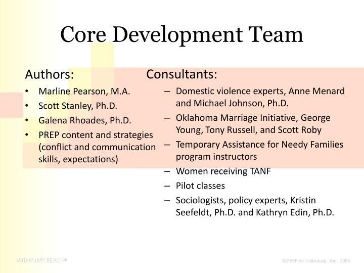 Core Development Team