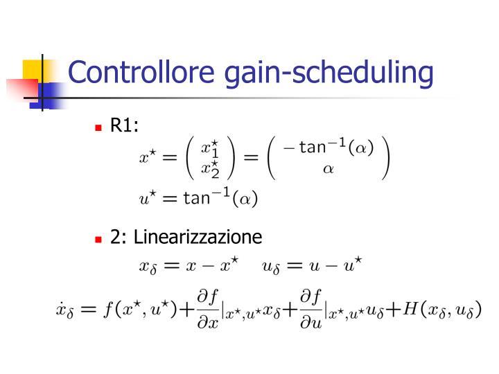 Controllore gain-scheduling