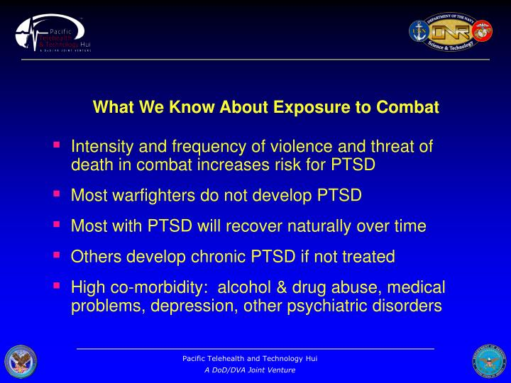 What We Know About Exposure to Combat