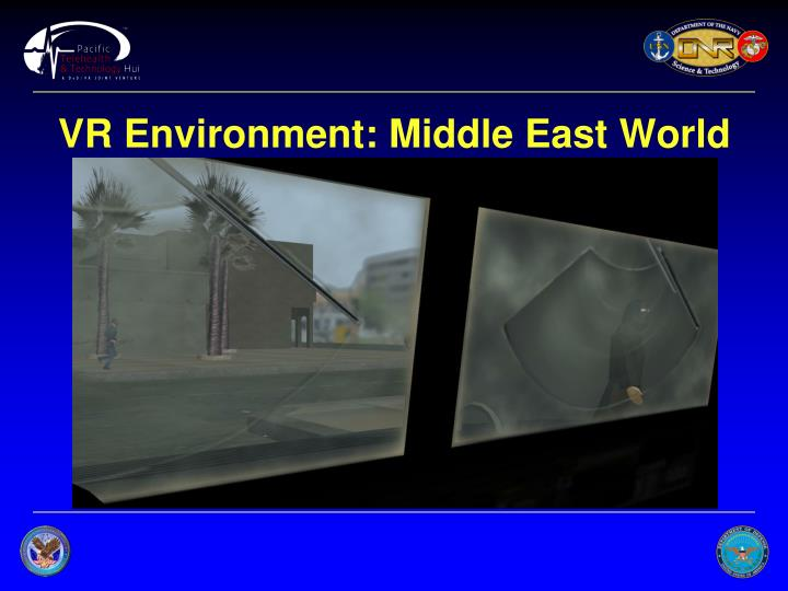VR Environment: Middle East World