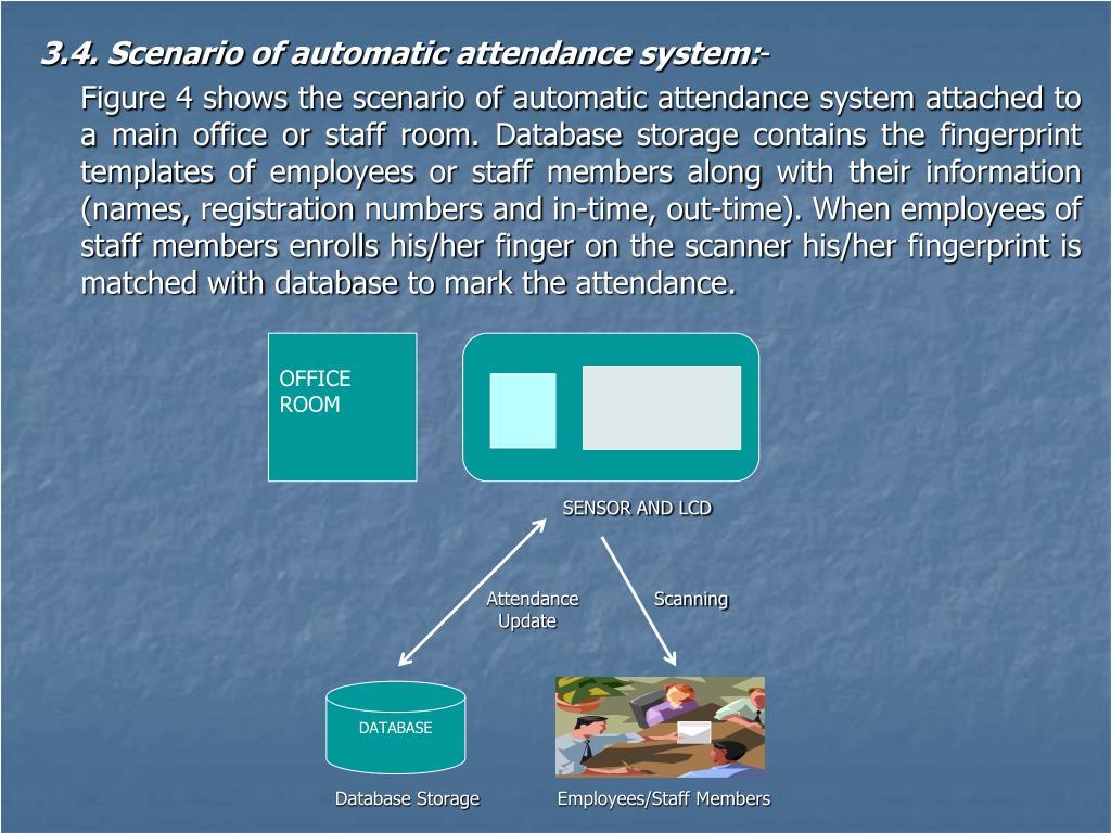 PPT - Biometric Fingerprint Attendance Management System PowerPoint