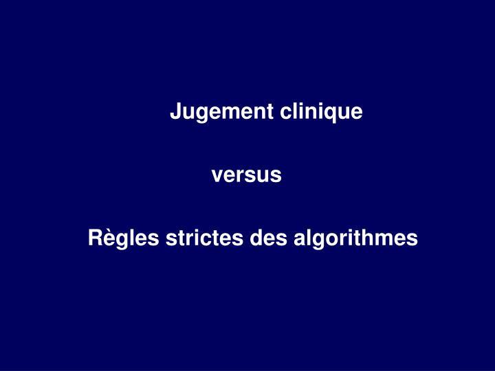 Jugement clinique