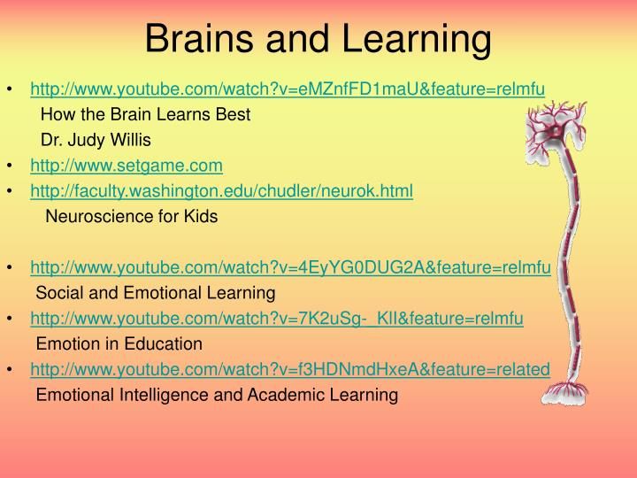 Brains and Learning