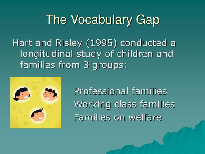 The Vocabulary Gap