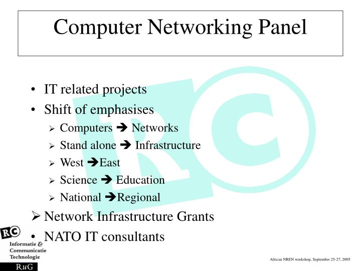 Computer Networking Panel