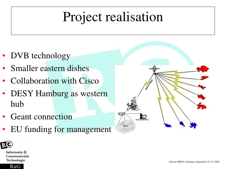 Project realisation
