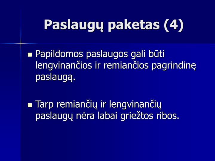 Paslaugų paketas (4)
