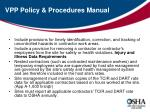 vpp policy procedures manual1