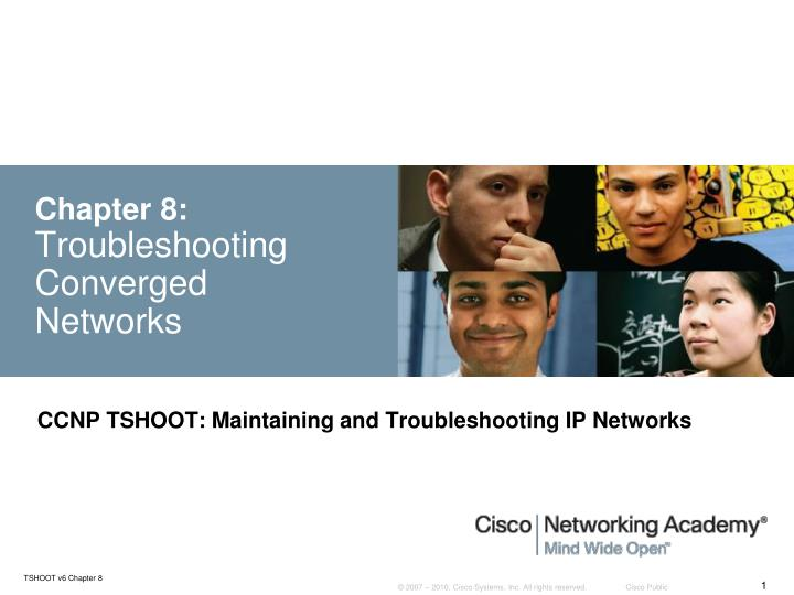 chapter 8 troubleshooting converged networks n.