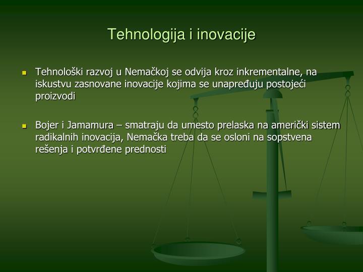 Tehnologija i inovacije
