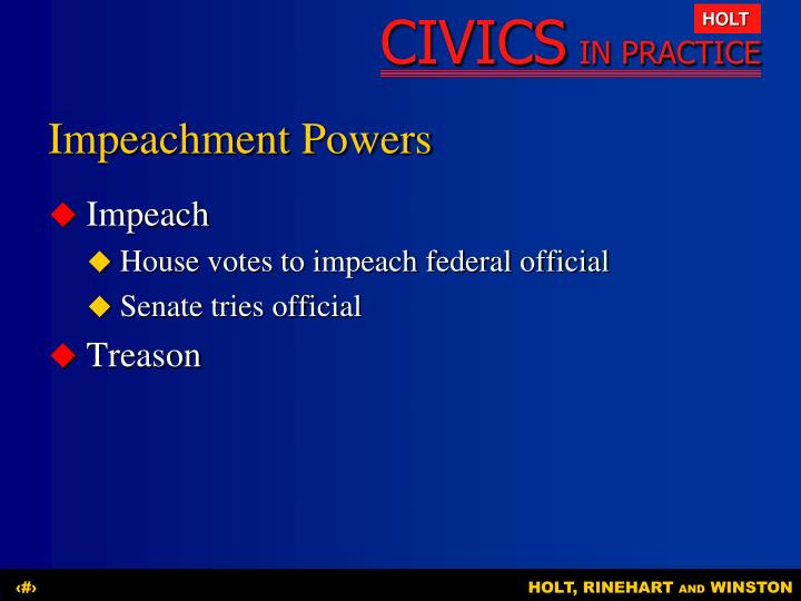 Impeachment Powers