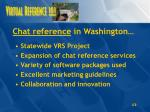 chat reference in washington