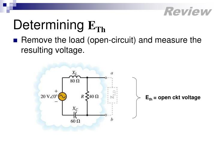 Remove the load (open-circuit) and measure the resulting voltage.