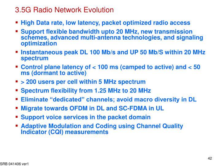 3.5G Radio Network Evolution