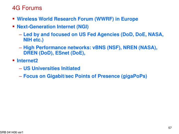 4G Forums