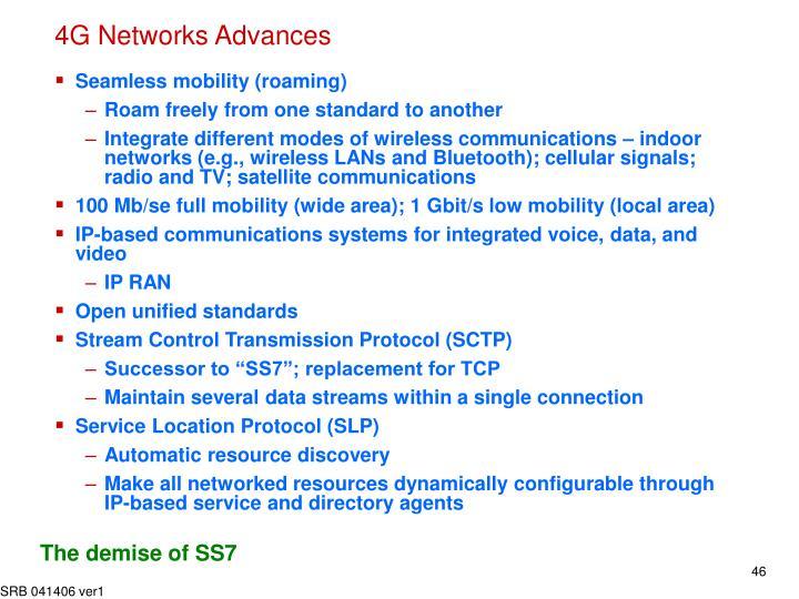 4G Networks Advances