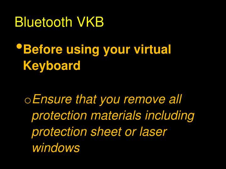 Bluetooth VKB