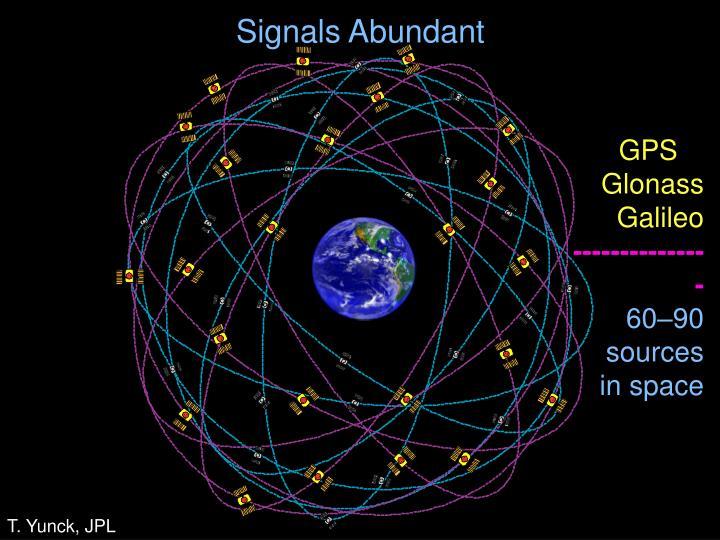 Signals Abundant