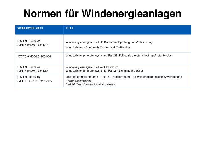 Normen f r windenergieanlagen1