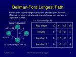 bellman ford longest path