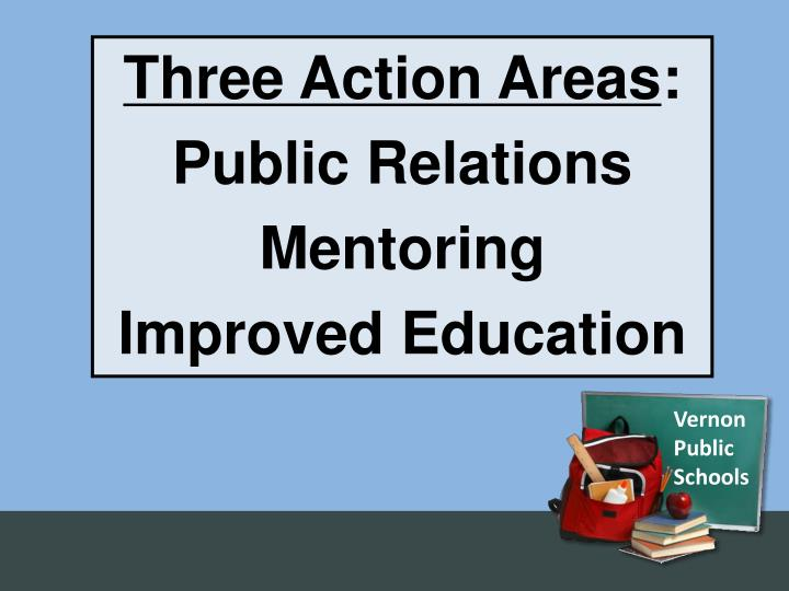 Three Action Areas