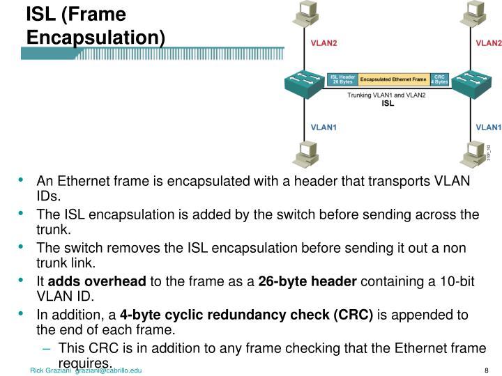 ISL (Frame Encapsulation)