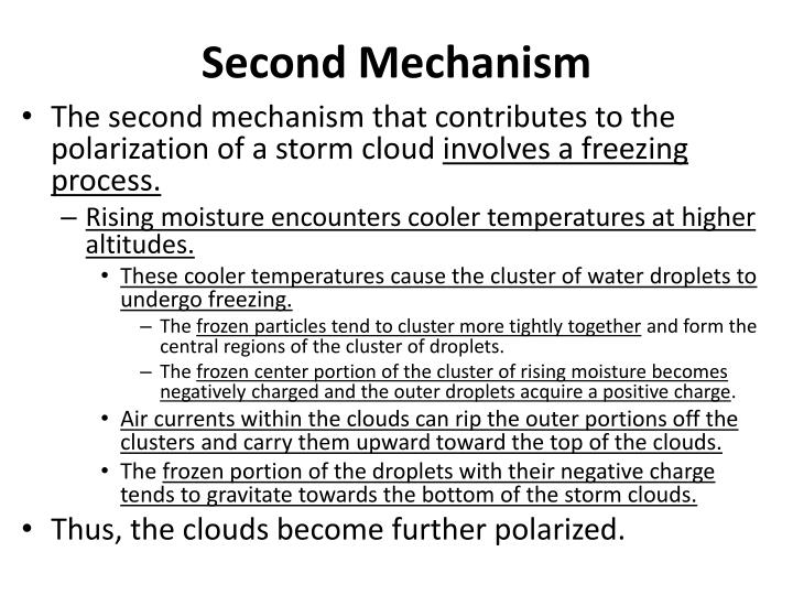 Second Mechanism