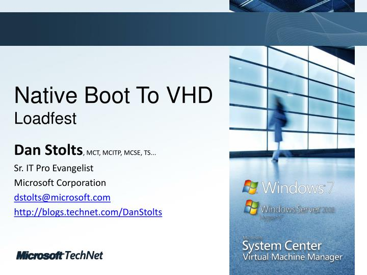 native boot to vhd loadfest n.